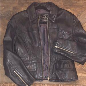 Beautiful distressed Black Express Jacket